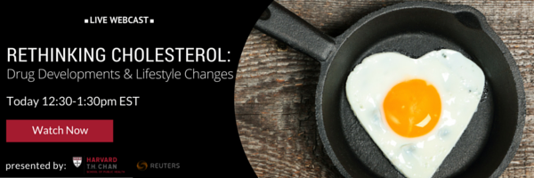 Rethinking Cholesterol Webinar, September 24, 12:30-1:30pm